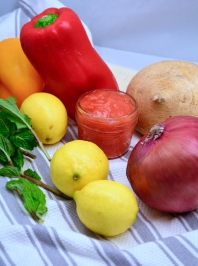 Jicama coleslaw ingredients
