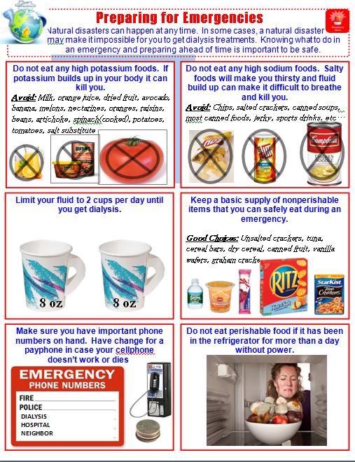 emergency diet dialysis